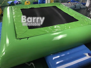 PVC Tarpaulin Inflatable Water Toys Jumping Water Trampoline Bed Airtight Bouncer