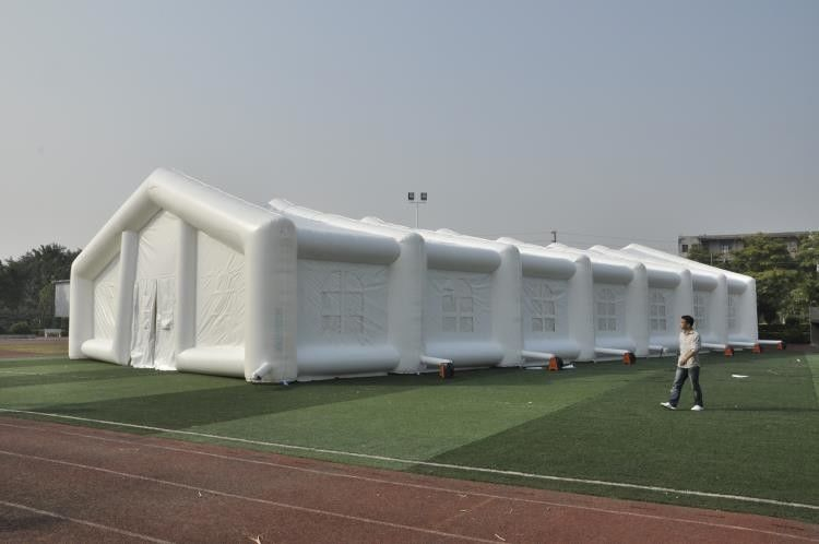 Romantic Inflatable Tent For Wedding Decoration , Dome Outdoor White Party Tent